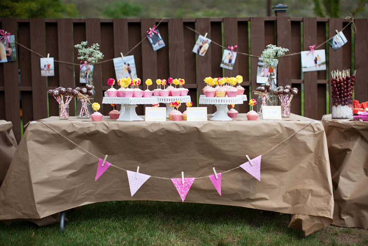 Outdoor Country Wedding Shower Ideas: Kaylene's Backyard DIY Bridal Shower
