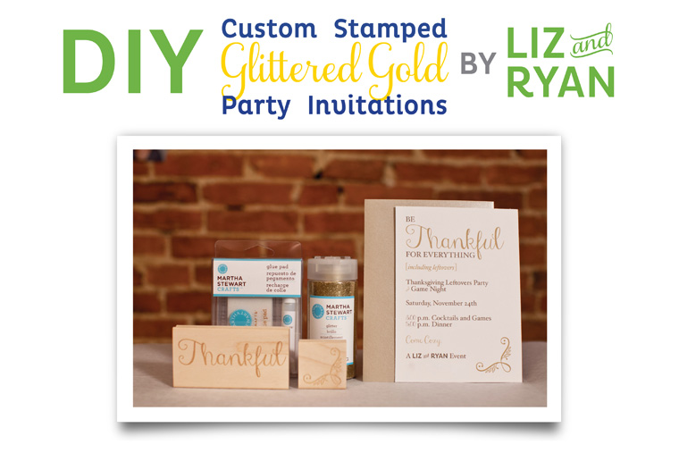 DIY-Custom-Glittered-Gold-Party-Invitations