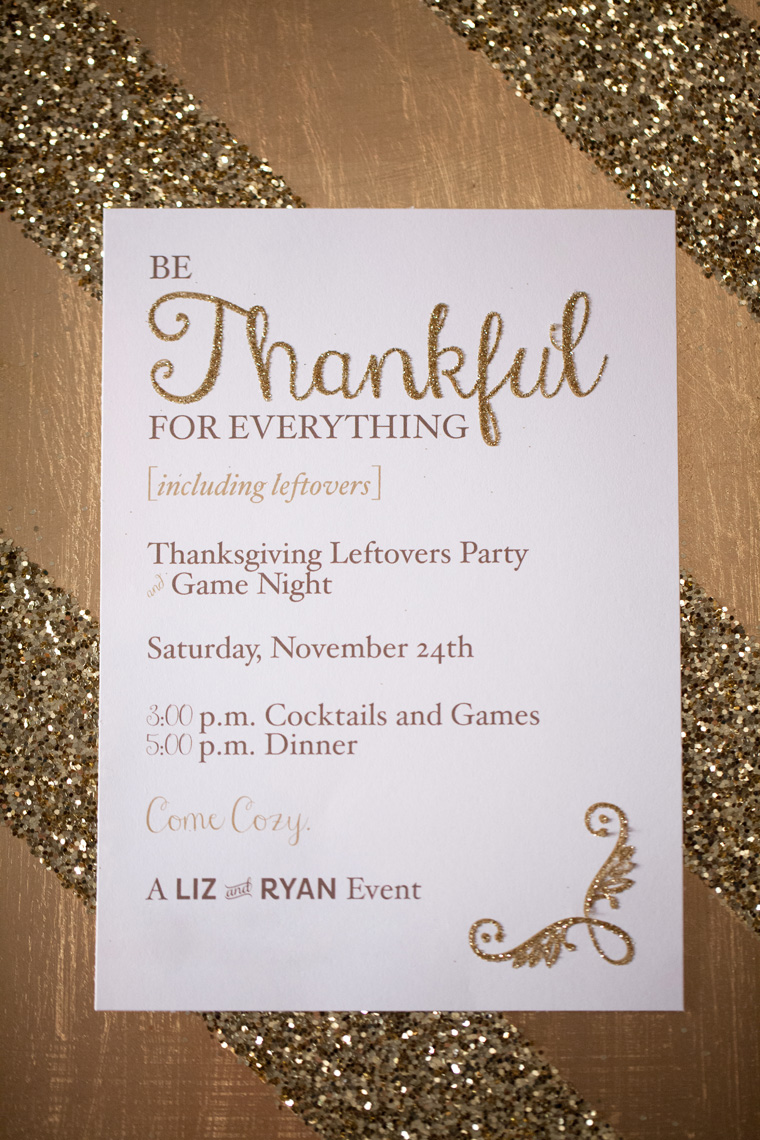 Entertaining Ideas Thanksgiving Leftovers and Game Night Couples Date Night (19)
