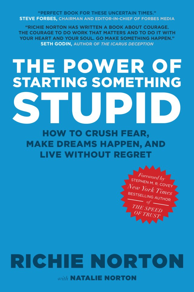 The Liz and Ryan Book Club: The Power of Starting Something Stupid Cover