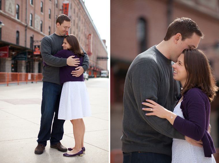 Baltimore Engagement Session Camden Yards Engagement Photos Fells Point Maxs Taphouse Baltimore Photos by Liz and Ryan Photos (11)