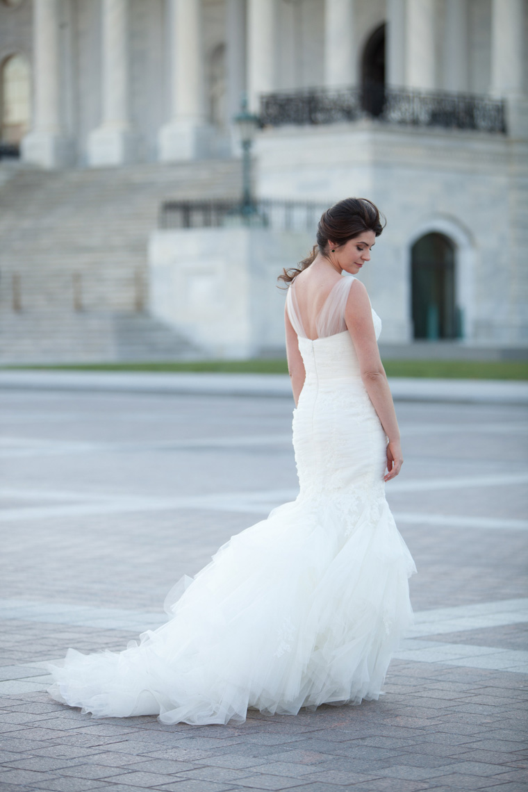 Washington DC Bridal Portrait Session - Becca - Liz and ...