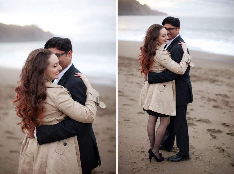 San Francisco Engagement Session Golden Gate Bridge Baker Beach City Downtown SF Crissy Field Palace of Fine Arts California Urban Engagement Photos by Liz and Ryan (2)
