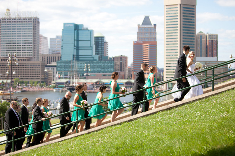 Baltimore Inner Harbor Tabrizi's Wedding Photos by Liz and Ryan Waterfront Federal Hill The Shrine of the Sacred Heart Mount Washington Wedding and Engagement Photography (13)