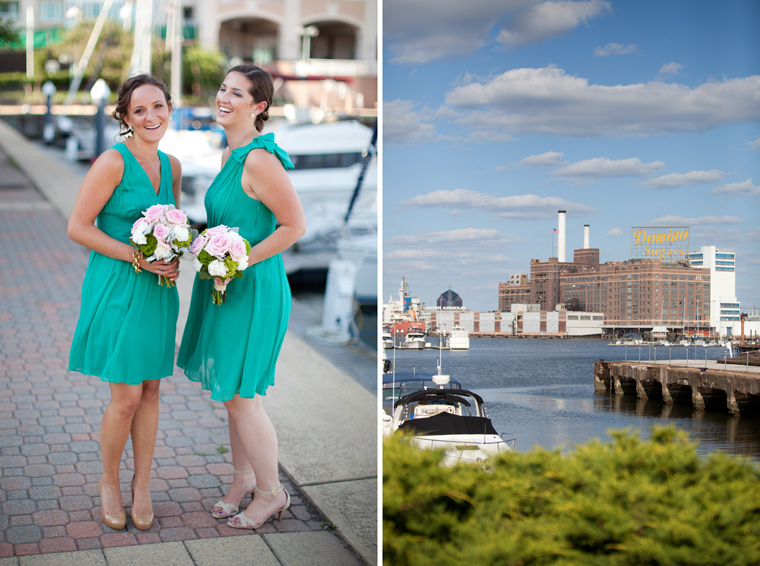 Baltimore Inner Harbor Tabrizi's Wedding Photos by Liz and Ryan Waterfront Federal Hill The Shrine of the Sacred Heart Mount Washington Wedding and Engagement Photography (9)