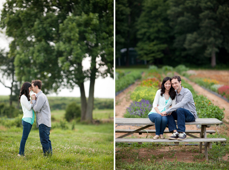 Butler's Orchard Engagement Session Photos by Liz and Ryan Farm Engagement Session Pick Your Own Farm Blueberries Blueberry Soda Blueberry Beer Picnic Engagement Session Maryland Wedding and Engagement Photography Pick Your Own Blueberries Pick Your Own Flowers Flower Fields Photos by Liz and Ryan (3)