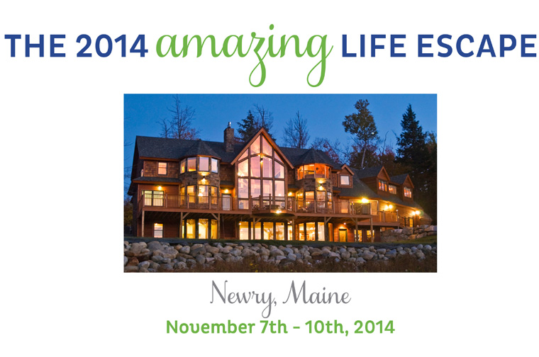 Maine Life Escape Banner for Liz and Ryan Blog