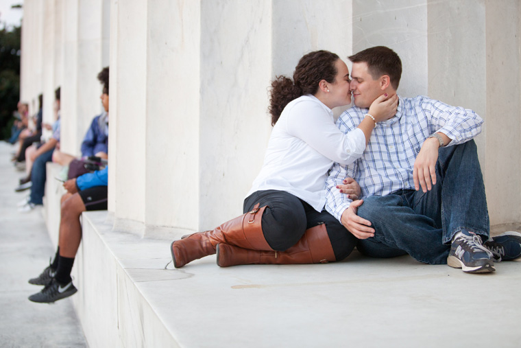 Washington DC Engagement Photos by Liz and Ryan Lincoln Memorial Washington Monument Washington DC Mall Wedding and Engagement Photography The White House (2)