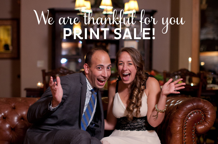 Liz and Ryan BlogThanksgiving Sale 2014 Blog Header