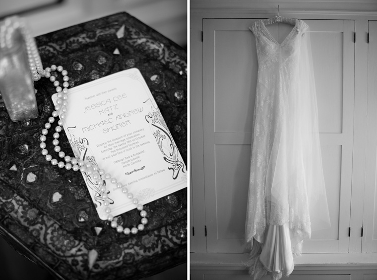 1920s Art Deco Style Wedding Photos by Liz and Ryan Hendersonville North Carolina Melange Bed & Breakfast Photos (36)