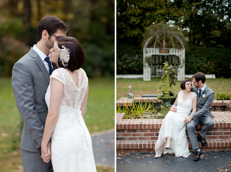1920s Art Deco Style Wedding Photos by Liz and Ryan Hendersonville North Carolina Melange Bed & Breakfast Photos (9)