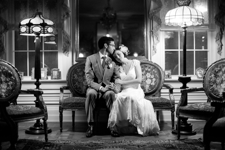 1920s Art Deco Style Wedding Photos by Liz and Ryan Hendersonville North Carolina Melange Bed & Breakfast Photos (1)