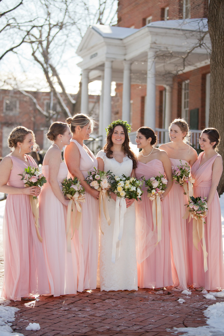 St Johns College McDowell Hall Randall Hall Annapolis Maryland Winter Wedding Snow Wedding and Engagement Photography Classic Romantic Photos by Liz and Ryan (38)