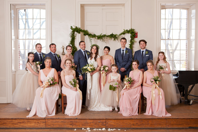 St Johns College McDowell Hall Randall Hall Annapolis Maryland Winter Wedding Snow Wedding and Engagement Photography Classic Romantic Photos by Liz and Ryan (25)