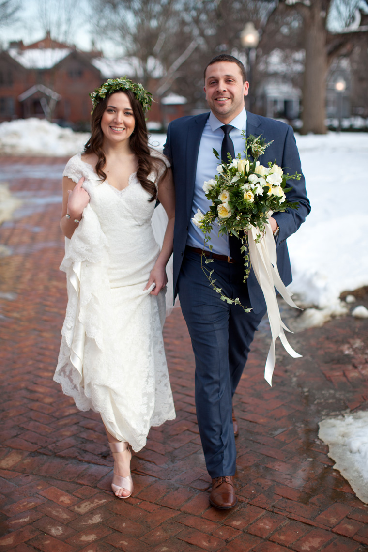 St Johns College McDowell Hall Randall Hall Annapolis Maryland Winter Wedding Snow Wedding and Engagement Photography Classic Romantic Photos by Liz and Ryan (24)