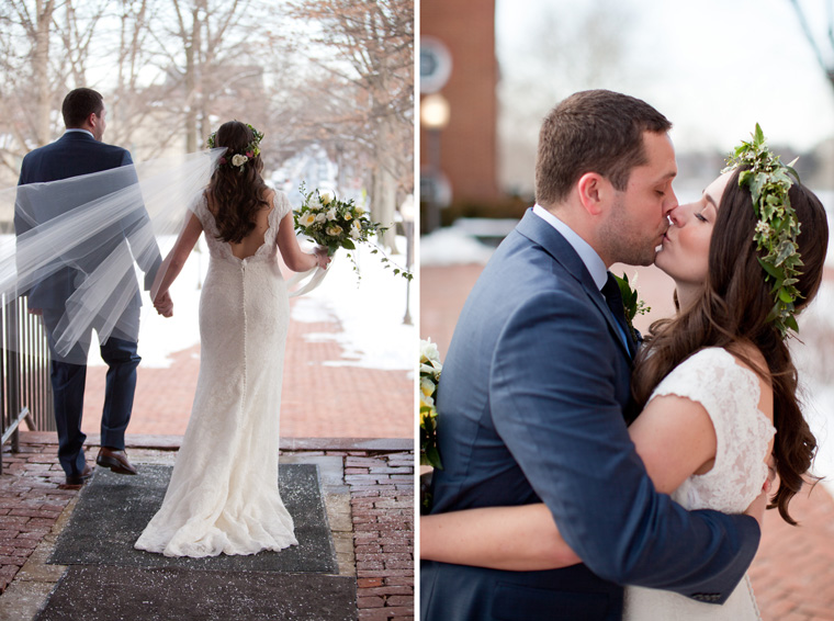 St Johns College McDowell Hall Randall Hall Annapolis Maryland Winter Wedding Snow Wedding and Engagement Photography Classic Romantic Photos by Liz and Ryan (22)