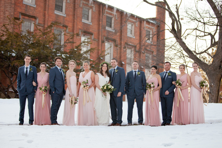 St Johns College McDowell Hall Randall Hall Annapolis Maryland Winter Wedding Snow Wedding and Engagement Photography Classic Romantic Photos by Liz and Ryan (21)