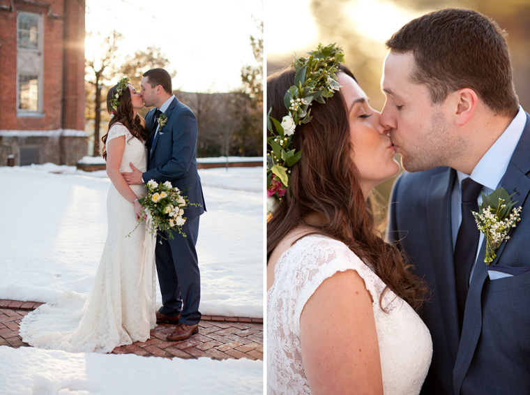 St Johns College McDowell Hall Randall Hall Annapolis Maryland Winter Wedding Snow Wedding and Engagement Photography Classic Romantic Photos by Liz and Ryan (20)