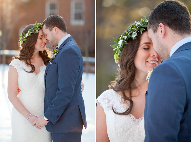 St Johns College McDowell Hall Randall Hall Annapolis Maryland Winter Wedding Snow Wedding and Engagement Photography Classic Romantic Photos by Liz and Ryan (17)