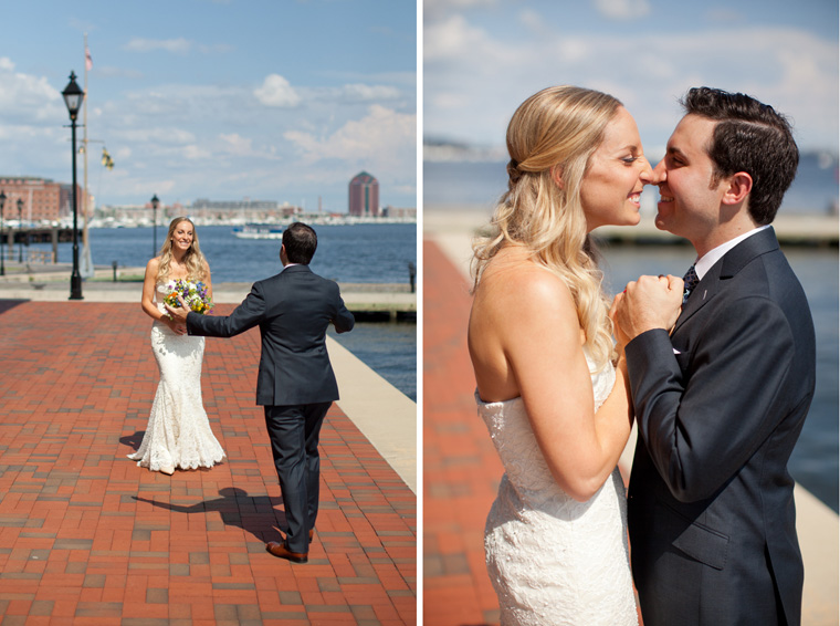 Baltimore Inner Harbor Wedding Maryland Waterfront Wedding and Engagement Photography by Liz and Ryan Christopher Schafer Clothier Frederick Douglass-Isaac Myers Maritime Museum Fells Point Baltimore Photos by Liz and Ryan (24)
