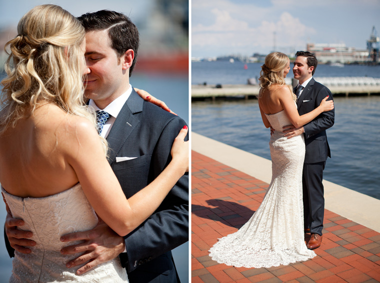 Baltimore Inner Harbor Wedding Maryland Waterfront Wedding and Engagement Photography by Liz and Ryan Christopher Schafer Clothier Frederick Douglass-Isaac Myers Maritime Museum Fells Point Baltimore Photos by Liz and Ryan (22)