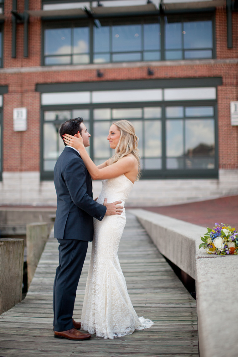 Baltimore Inner Harbor Wedding Maryland Waterfront Wedding and Engagement Photography by Liz and Ryan Christopher Schafer Clothier Frederick Douglass-Isaac Myers Maritime Museum Fells Point Baltimore Photos by Liz and Ryan (20)
