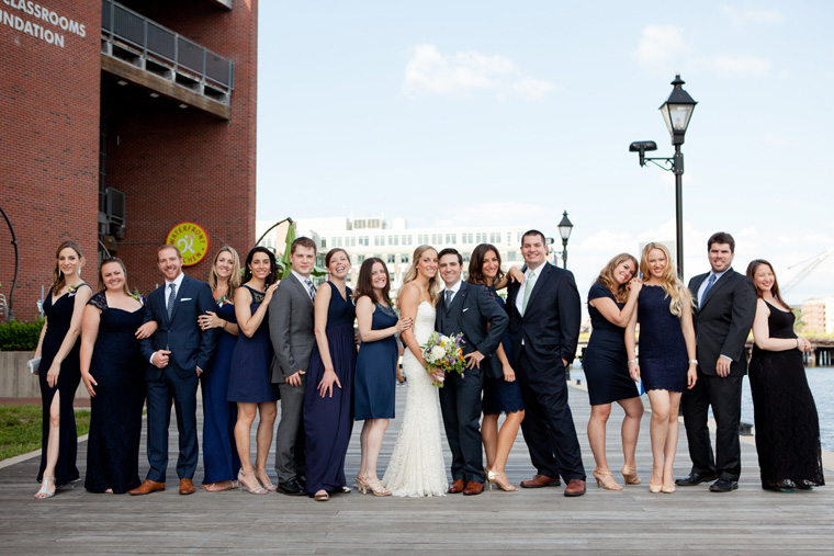 Baltimore Inner Harbor Wedding Maryland Waterfront Wedding and Engagement Photography by Liz and Ryan Christopher Schafer Clothier Frederick Douglass-Isaac Myers Maritime Museum Fells Point Baltimore Photos by Liz and Ryan (15)