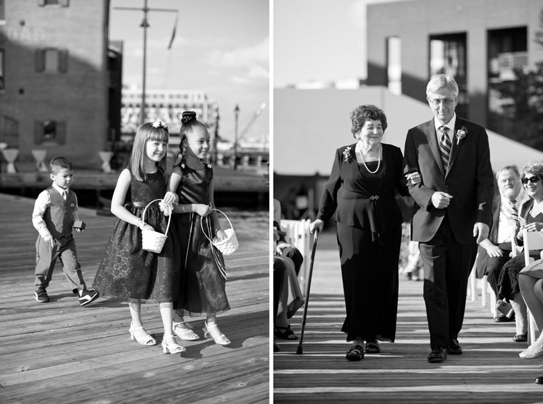 Baltimore Inner Harbor Wedding Maryland Waterfront Wedding and Engagement Photography by Liz and Ryan Christopher Schafer Clothier Frederick Douglass-Isaac Myers Maritime Museum Fells Point Baltimore Photos by Liz and Ryan (13)