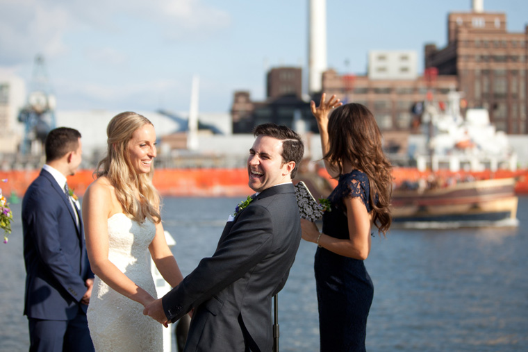 Baltimore Inner Harbor Wedding Maryland Waterfront Wedding and Engagement Photography by Liz and Ryan Christopher Schafer Clothier Frederick Douglass-Isaac Myers Maritime Museum Fells Point Baltimore Photos by Liz and Ryan (10)