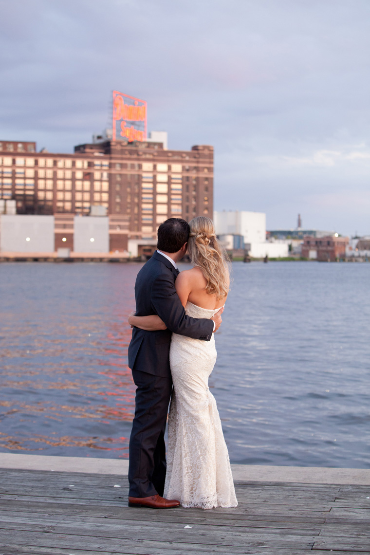 Baltimore Inner Harbor Wedding Maryland Waterfront Wedding and Engagement Photography by Liz and Ryan Christopher Schafer Clothier Frederick Douglass-Isaac Myers Maritime Museum Fells Point Baltimore Photos by Liz and Ryan (7)