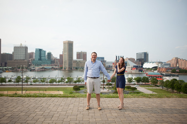 Baltimore Orioles Engagement Session Federal Hill Baltimore Engagement Photos (29)