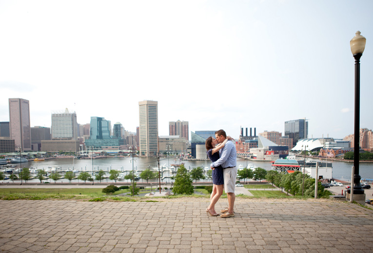 Baltimore Orioles Engagement Session Federal Hill Baltimore Engagement Photos (25)