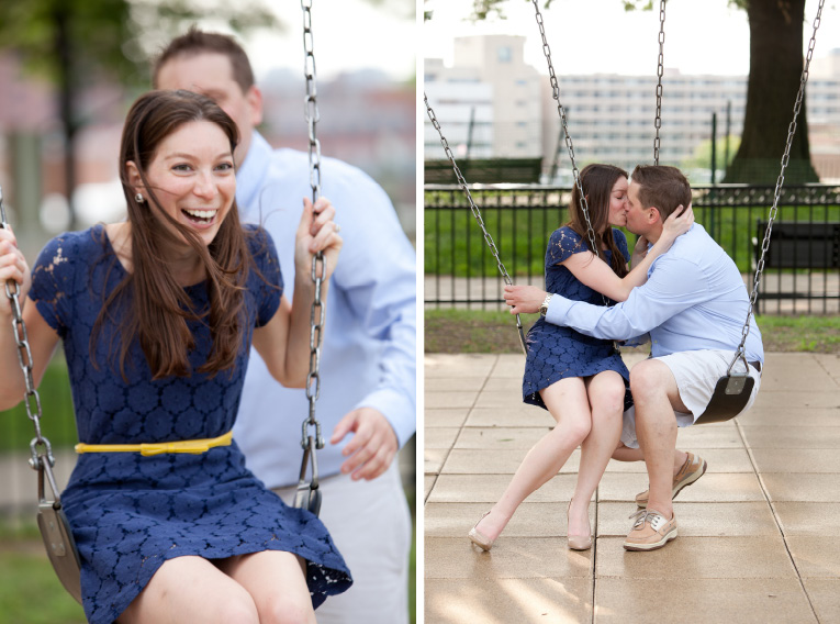 Baltimore Orioles Engagement Session Federal Hill Baltimore Engagement Photos (24)