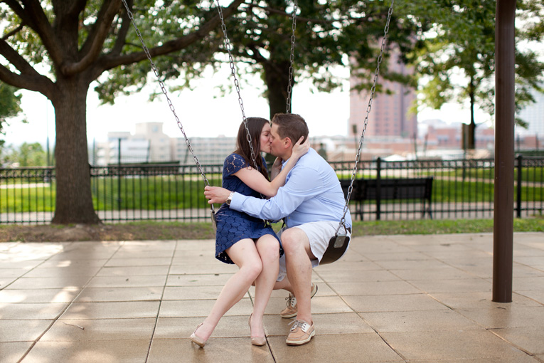 Baltimore Orioles Engagement Session Federal Hill Baltimore Engagement Photos (23)