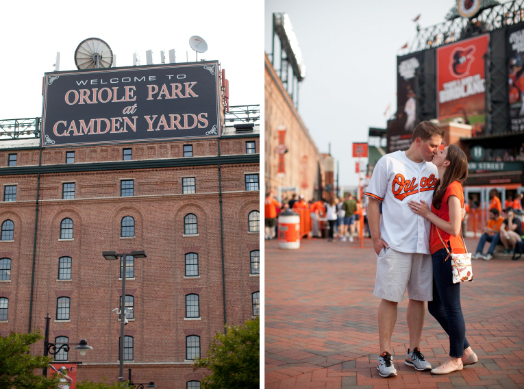 Baltimore Orioles Engagement Session Federal Hill Baltimore Engagement Photos (22)