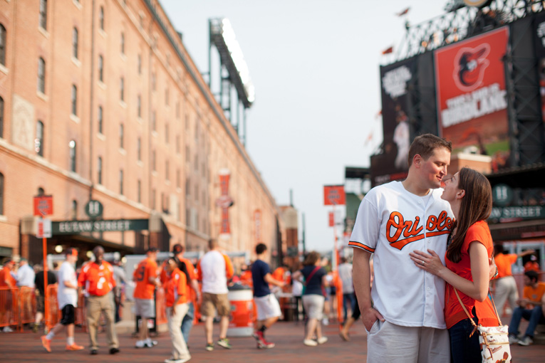 Baltimore Orioles Engagement Session Federal Hill Baltimore Engagement Photos (21)