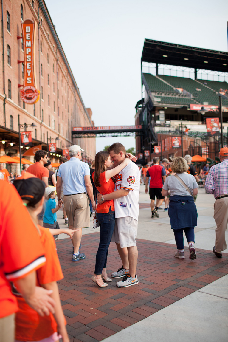 Baltimore Orioles Engagement Session Federal Hill Baltimore Engagement Photos (20)