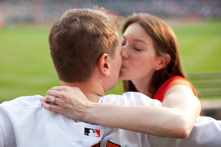 Baltimore Orioles Engagement Session Federal Hill Baltimore Engagement Photos (17)