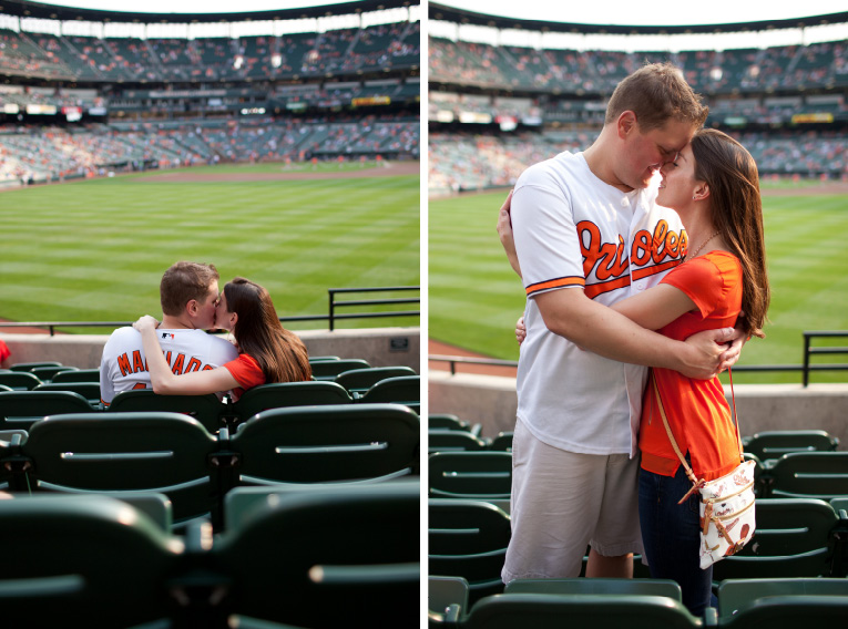 Baltimore Orioles Engagement Session Federal Hill Baltimore Engagement Photos (16)