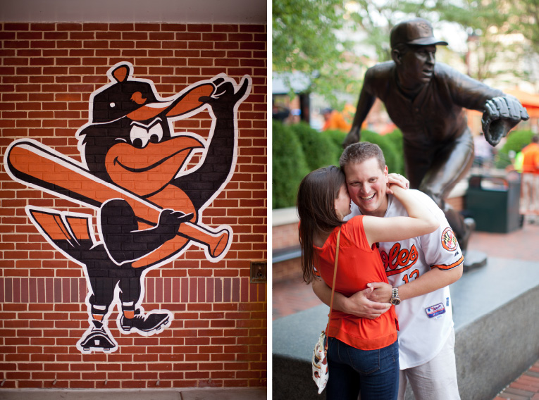 Baltimore Orioles Engagement Session Federal Hill Baltimore Engagement Photos (14)