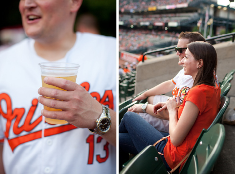 Baltimore Orioles Engagement Session Federal Hill Baltimore Engagement Photos (13)