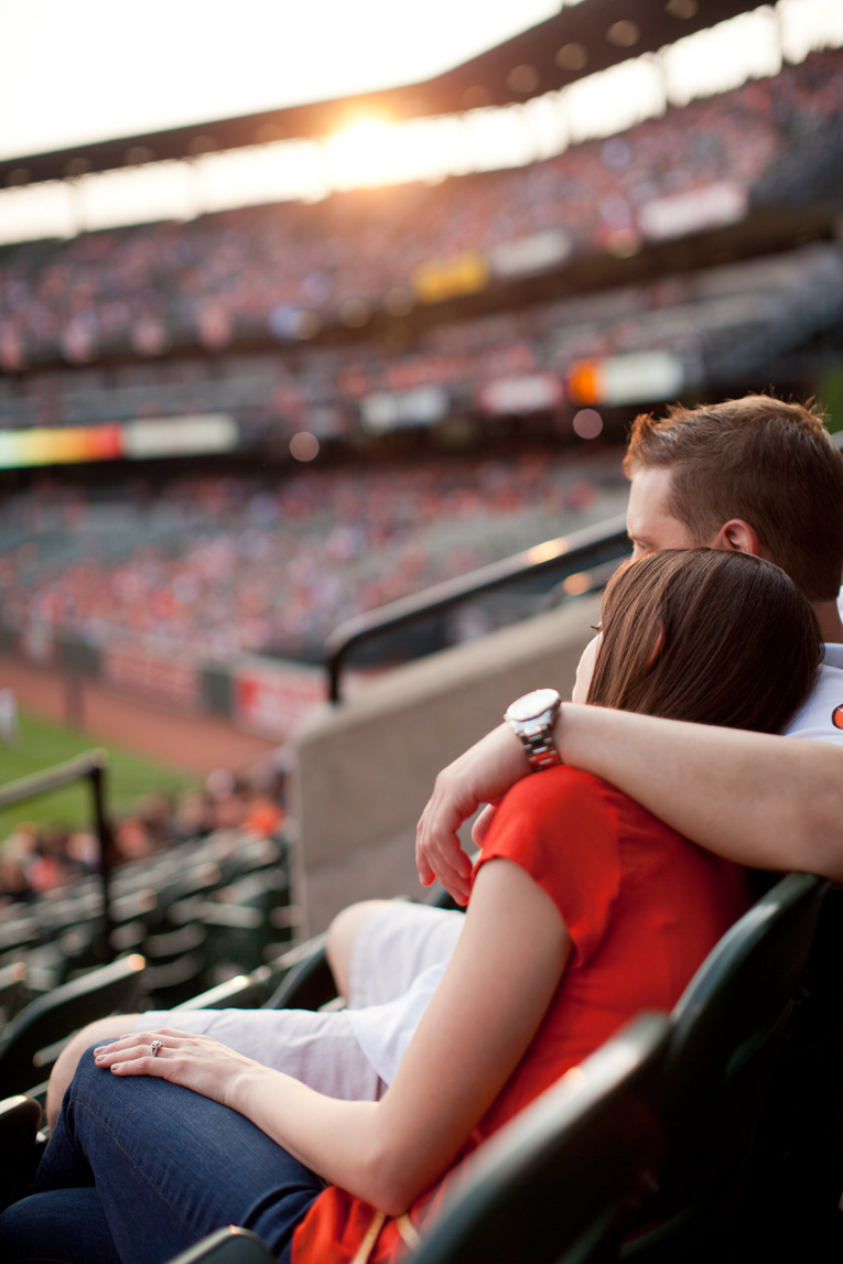 Baltimore Orioles Engagement Session Federal Hill Baltimore Engagement Photos (12)