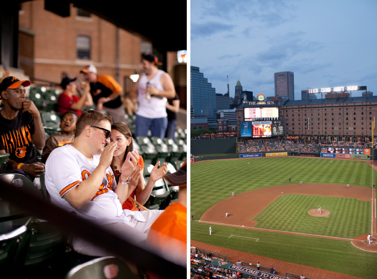 Baltimore Orioles Engagement Session Federal Hill Baltimore Engagement Photos (6)
