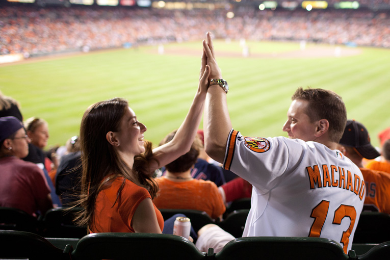Baltimore Orioles Engagement Session Federal Hill Baltimore Engagement Photos (4)