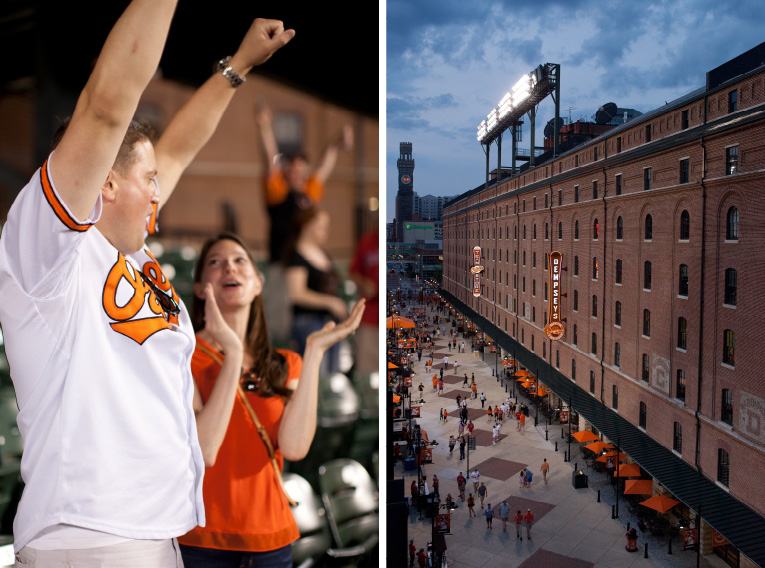 Baltimore Orioles Engagement Session Federal Hill Baltimore Engagement Photos (2)