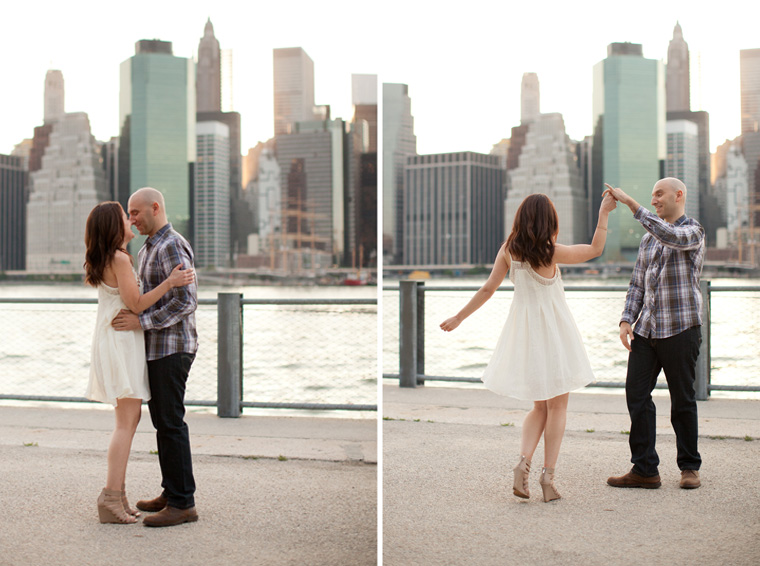 Brooklyn New York City Engagement Session NYC Wedding and Engagement Photography by Liz and Ryan Brooklyn Bridge Prospect Park Photos by Liz and Ryan (5)